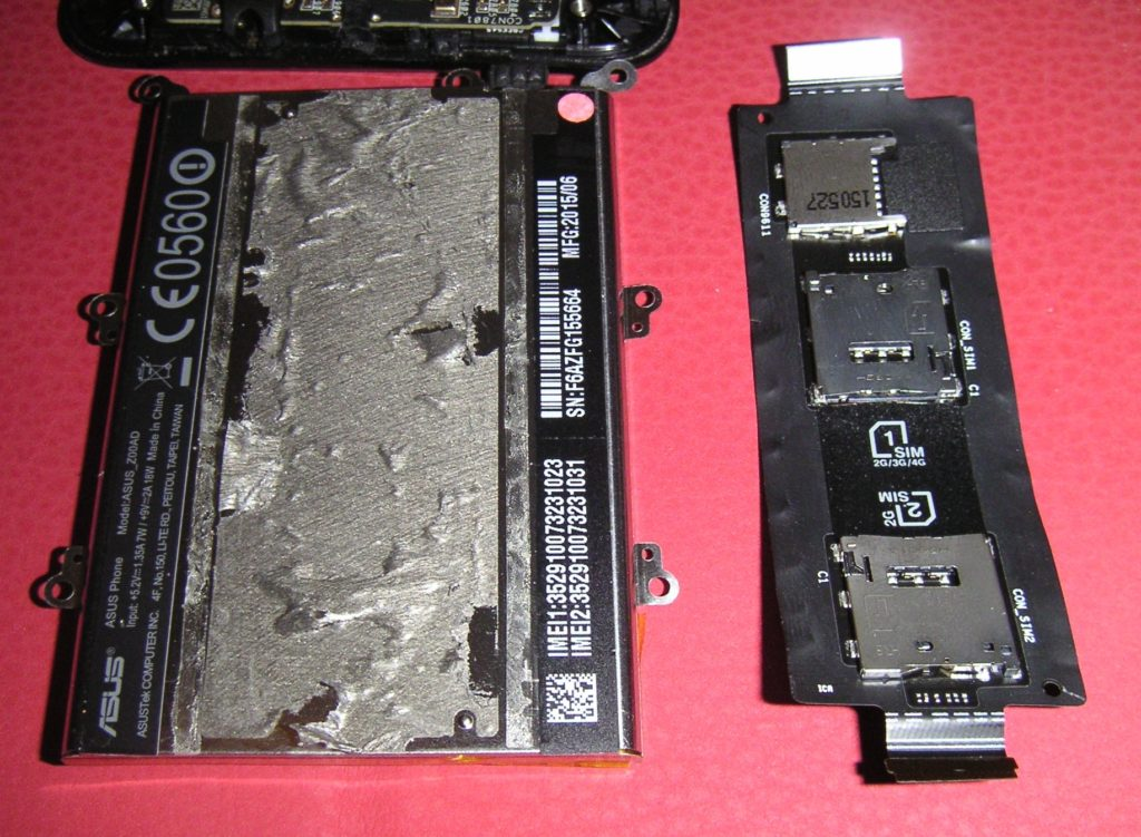 ZenFone2 SIM&SDカードシート
